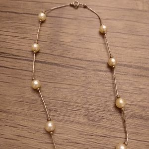 Antique pearl strand